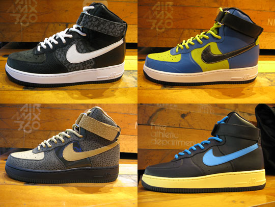 nike air force 1 high neue releases blog. Black Bedroom Furniture Sets. Home Design Ideas