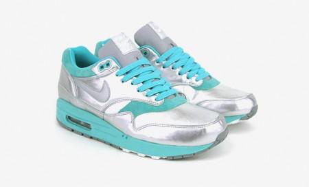 Nike Air Max Silber Türkis