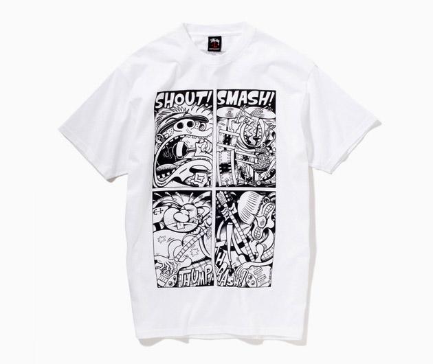 Peter bagge x st ssy punk comic t shirt blog for Comic t shirts online