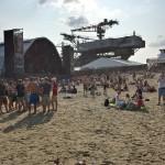 Bühnenpause - Zeit für Strandfeeling beim Splash